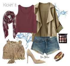 Kickin' It by debbie-michailides on Polyvore featuring polyvore мода style Monki rag & bone Gianvito Rossi The Code Chico's Sole Society MAC Cosmetics fashion clothing