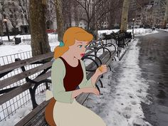 Humans Of New York Reimagined With Disney Characters