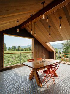 Napa Barn Modern Home in Saint Helena, California by anderson… on Dwell