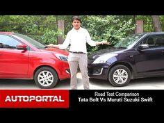 Tata Cars, Maruti Suzuki Cars, Compare Cars, Suzuki Swift, Latest Cars, Driving Test, India, Youtube, Goa India