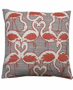 Flamingos - Rapture and Wright Cushions