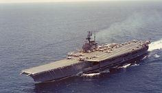 USS Forrestal (CV-59) while still in service