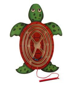 Loving this Magnetic Turtle Maze on #zulily! #zulilyfinds