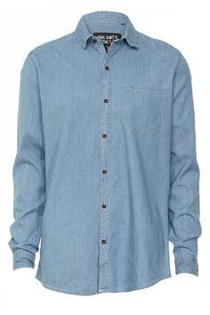 nighthawk ls denim shirt