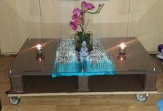 Pallet Coffee Table / Table basse en palette
