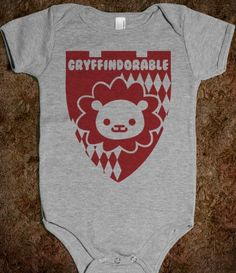 Gryffindorable. Now I know some girls that will need this for the future offspring :)