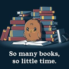 So viele Bücher, so wenig Zeit - T-Shirt / Herren / S- Best Picture For Books To Read poetry For Your Taste You are looking for something, and it is going to tell y Cute Cartoon Drawings, Cute Animal Drawings, Kawaii Drawings, Pokemon, I Love Books, My Books, Cute Animal Quotes, Nerdy Shirts, Book Memes