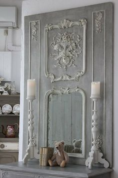 Shabby Chic Furniture In a family room, try to arrange your furniture into centers. Diy Home Furniture, French Furniture, Shabby Chic Furniture, Shabby Chic Decor, Painted Furniture, Diy Home Decor, French Interior, French Decor, French Country Decorating