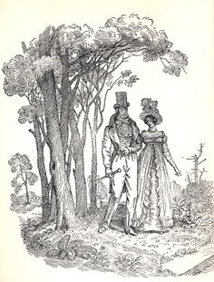 David Gorsline - Illustration to Pride and Prejudice.