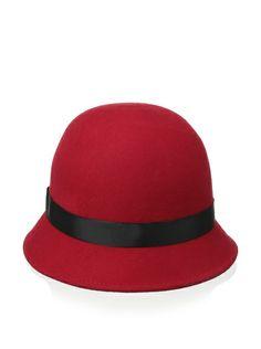 Giovannio Women's Cloche, Red at MYHABIT