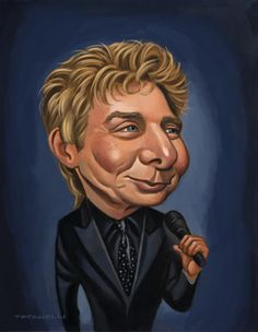 Barry Manilow Oh he he he look at me  Oh oh hee heeee