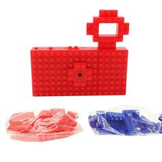Nanoblock Toy Digital Camera – Red from Photography Boutique - (Save Fresh Outfits, Buy Shoes, Best Brand, Digital Camera, Fashion Online, Fashion Accessories, Man Shop, Boutique, Toys
