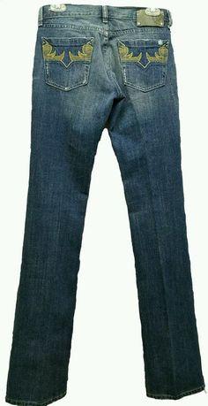 cbc1b616cc1 Diesel Riden 0070N medium distressed wash denim slim boot jeans Italy W28  L36