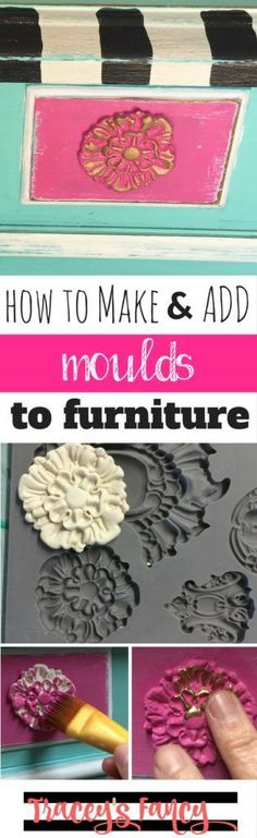 Awesome DIY Furniture Makeover Ideas: Genius Ways to Repurpose Old Furniture With Lots of Tutorials - Picgram Handmade Furniture, Repurposed Furniture, Painted Furniture, Diy Furniture, Automotive Furniture, Automotive Decor, Furniture Refinishing, Refurbished Furniture, Vintage Furniture