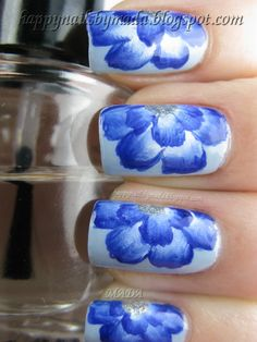 One Stroke, Blue Geranium