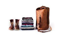 Duffle bag - Nice! - The Military Duffle Bag - http://www.whippingpost.com/products/the-military-duffle-bag