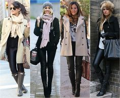 Nice winter looks. Style Casual, Casual Looks, My Style, Basic Fashion, Fashion Looks, Fall Winter Outfits, Winter Fashion, Snow Outfit, Fashion Moda