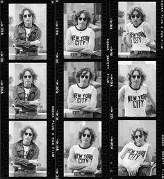 Jhon Lennon por Bob Gruen #Beatlemania