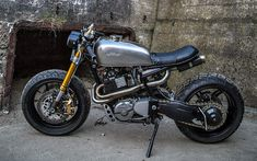 This 1983 Honda XL600R  street tracker is the latest build by Robinson's Speed Shop  - Southend, UK   A/J Photography