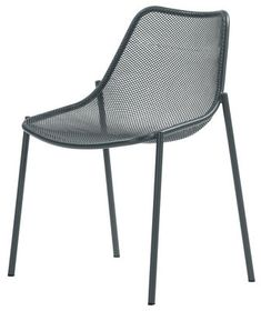 Round Stackable chair - Metal - Emu £110.00