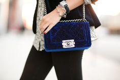 velvet Chanel