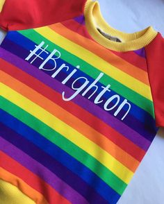 Just wrapping up this cute variation on my top for pride in Brighton next week ❤️ Prices start from £14, please dm to order. • • • #handmade #bright #rainbow #shoplocal #shopsmall #stripes #shop #shoppingonline #kidsclothes #kidsfashion #kidsstyle #kidsclothing #kidsootd #kidswear #unique #alternativefashion #unisex #genderneutral #childrenswear #childrensclothing #childrensclothes #babyshop #babyfashion #babyclothing #babyclothes #babystyle #babyootd #brighton #brightonpride