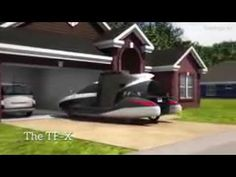 Super latex flying car in town Flying Car, Car Ins, Videos, Video Clip