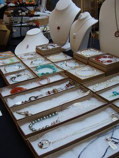 First day of The Home business Show by Bettina Johnson Jewelry, via Flickr