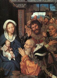 Quentin Massys, ( 1466-1530): Adoración de los Magos, 1526.