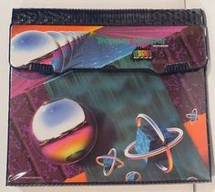 VINTAGE-TRAPPER-KEEPER-1993-RARE-Design-Series-Abstract-29100-Great-Mead Trapper Keeper Binder, College School Supplies, Binder Covers, Retro Humor, Mead, Pink Aesthetic, Diy For Teens, Tween