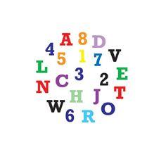 FMM Ausstecher für Fondant & Blütenpaste Set Alphabet/Zahlen, 37 teilig, 1,5 cm |MEINCUPCAKE Shop