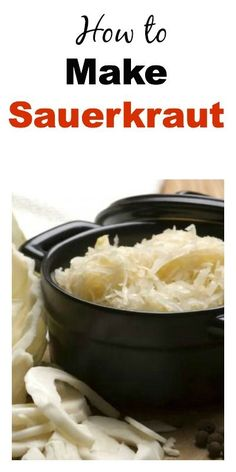 Load Up On Vitamins and Probiotics With This Homemade Sauerkraut