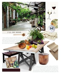 """""""Wild Table"""" by mirelakljajic ❤ liked on Polyvore featuring interior, interiors, interior design, home, home decor, interior decorating, Dot & Bo, Le Souk, Crate and Barrel and Paper & Tea"""