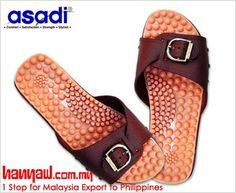 Comfort, satisfaction, stylish. Visit- http://www.hanyaw.com.my/Products/Asadi_Reflexology_Sandal_9086.html