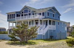 Outer Banks Vacation Rentals   Salvo Vacation Rentals   The HI Life #703    (6 Bedroom Oceanfront House)