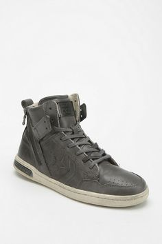 Converse X John Varvatos Weapon Leather Women's High-Top Sneaker - Urban Outfitters