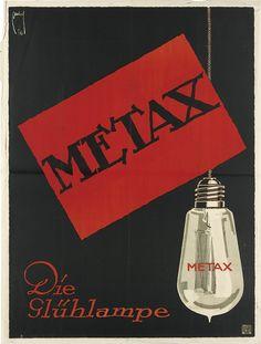 ERNST DEUTSCH (1883-1938). METAX / DIE GLUHLAMPE. 1916.