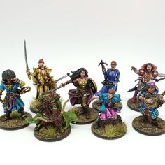 Random 3PCS Warriors Zombicide Massive Darkness Miniatures Board Game Figures