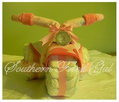 southern fried gal: Diaper Tricycle Tutorial