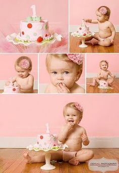 cute for pictures - 1st bday