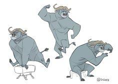 Borja Montoro Character Design: Zootopia V