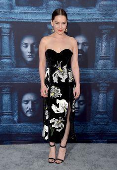 Emilia Clarke Photos - Premiere of HBO's 'Game of Thrones' Season 6 - Arrivals - Zimbio