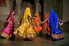 This photo was taken in Udaipur, India during the Mewar Festival. I love the colors