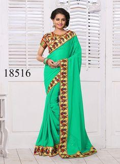 Pakistani Bollywood Sari Partywear Ethnic Dress Wedding Saree Designer Indian #TanishiFashion #DesignerSareeSari