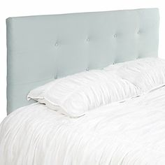 "ZG Benjamin Queen headboard. Our Benjamin Button Tufted Headboard is covered in resilient microfiber velvet.  Upholstered in 100% Polyester microfiber - 62""W x 41"" (or 51"") H x 4""D $500"