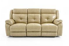 Futura Leather m771 Dual Reclining Sofa - Item Number: M771-83 1288H CHESAPEAKE