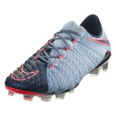 buy online 2dcb1 f083e Nike Hypervenom Phantom III FG Soccer Cleat - Armory Navy Black Light  Armory Blue Armory Blue Hot Punch   SOCCER.COM