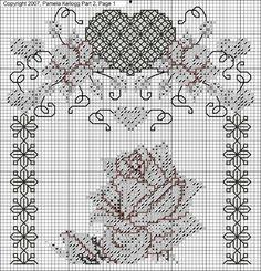Gallery.ru / Фото #12 - Blackwork_Roses - CrossStich