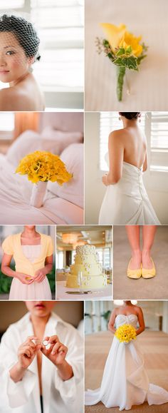 in love with yellow wedding accents, and lets be clear, I was in love before yellow was popular this year
