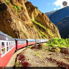 El tren macho para Huancavelica.